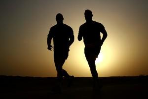 courir en soirée