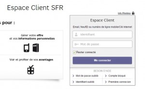espace client sfr