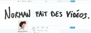 Faux compte Twitter Norman Thavaud