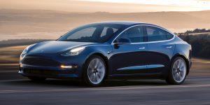 Prix de la Tesla Model 3